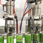 Aerosol Can Filling Machine For Butane Gas Cartridge