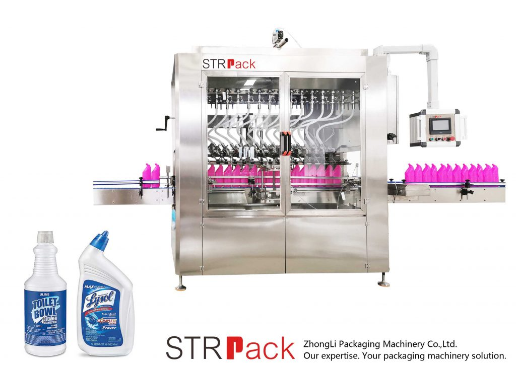 Angled-neck Bottle Liquid Filling Machine