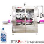 Angled-neck Bottle Liquid Filling Machine