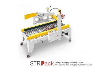 Automatic Adhesive Tape Flaps Folding Case Carton Box Sealer Machine