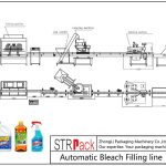 Automatic Bleach Filling Line