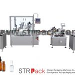 Automatic Dropper Bottle Filling and Capping Machine