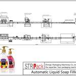 Automatic Liquid Soap Filling Line