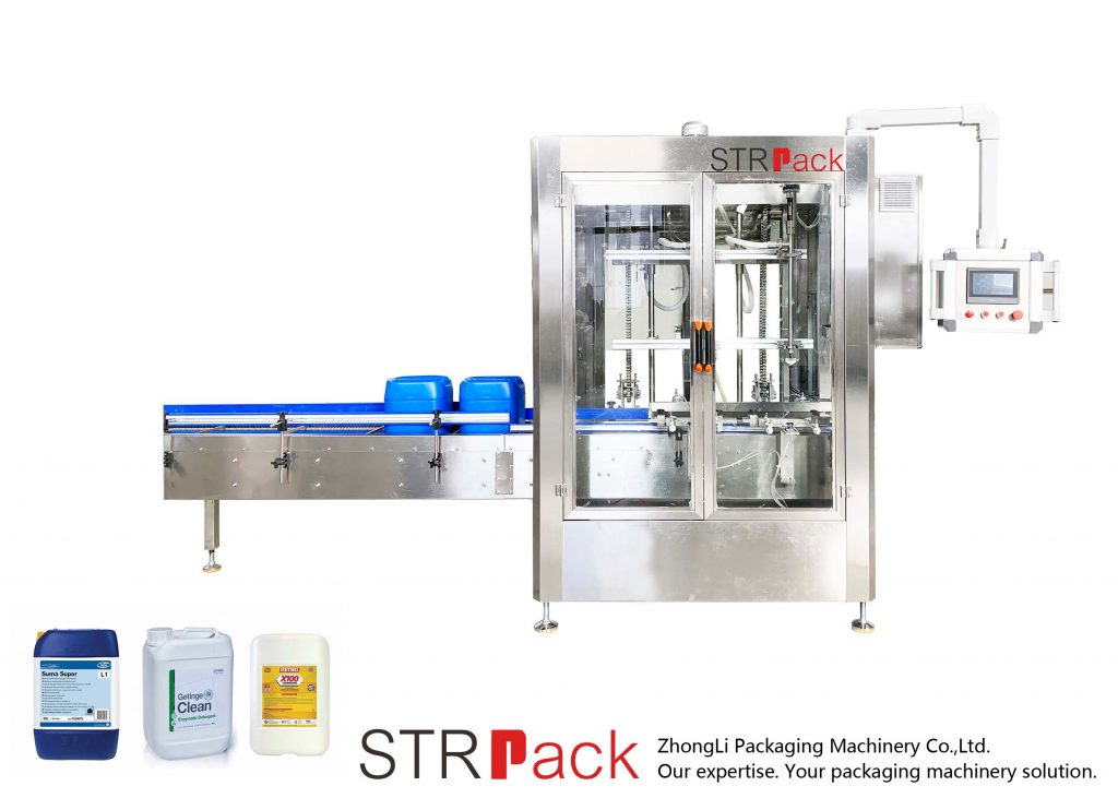 Automatic Net Weigh Filling Machine