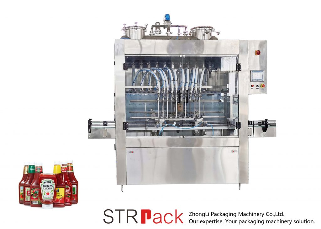 STRFP Automatic Sauce Filling Machine