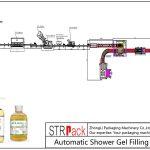 Automatic Shower Gel Filling Line