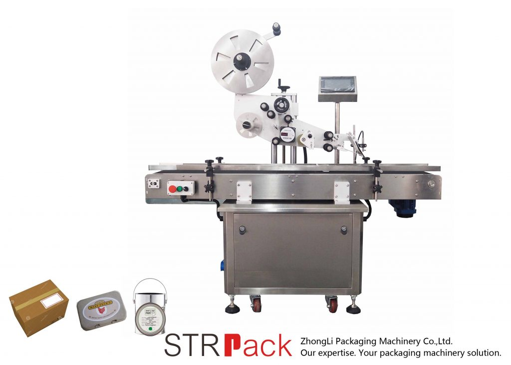 Automatic Vertical Plane Self-Adhesive Labeling Machine