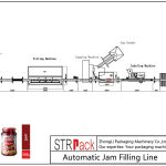 Automatic Jam Filling Line