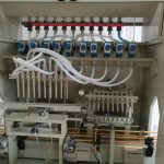 Corrosive Liquid filling line , Harpic Liquid Filling Line, Toilet Cleaner Filling Machine