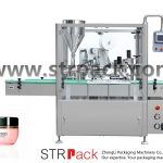 Cream Filling, Sealing And Capping Machine