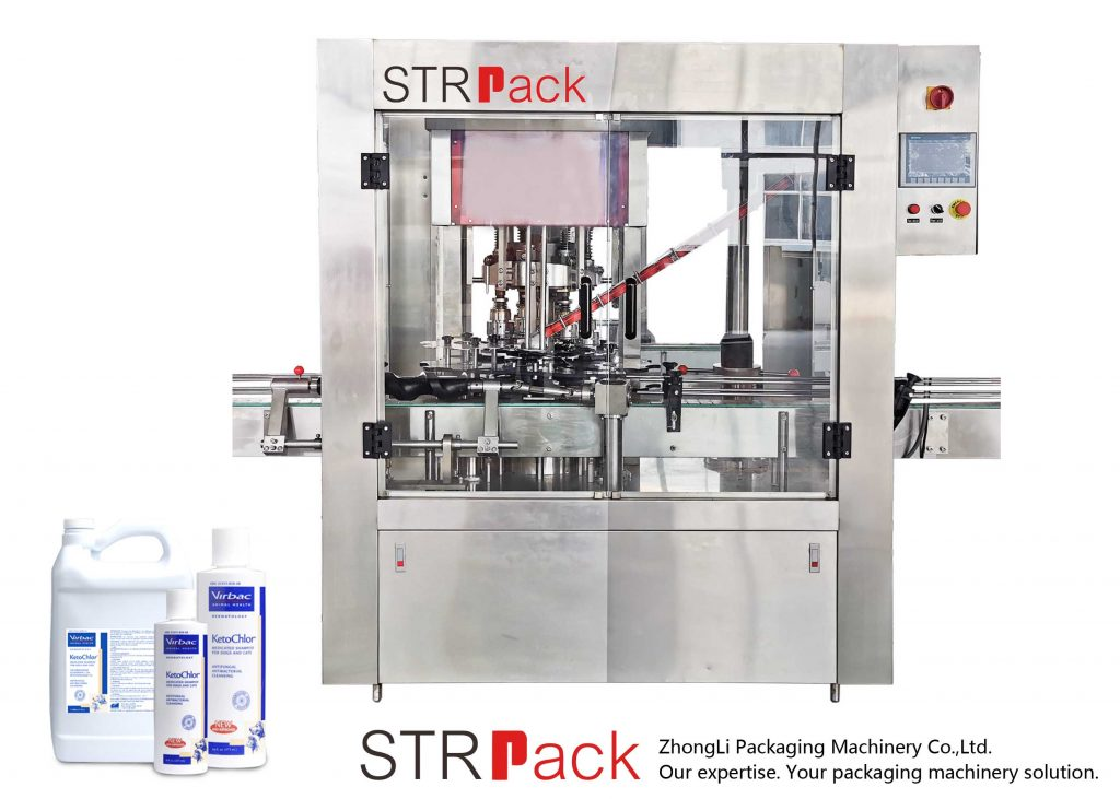 Automatic 8 Head Rotary Capping Machine