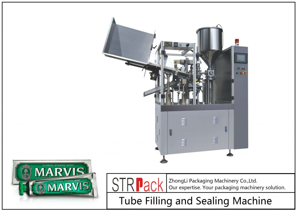 SFS-60 Plastic Tube Filling and Sealing Machine