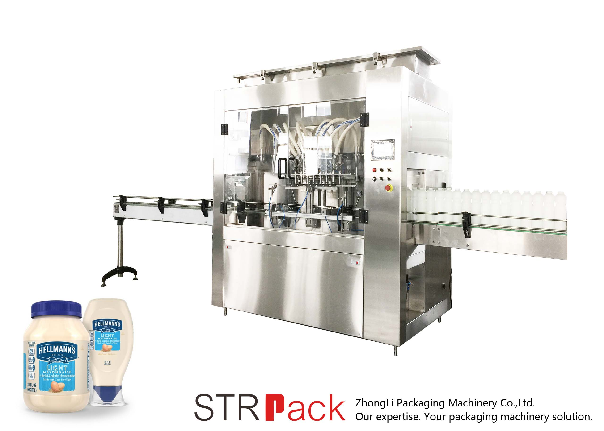 STRRP Rotor Pump Filling Machine