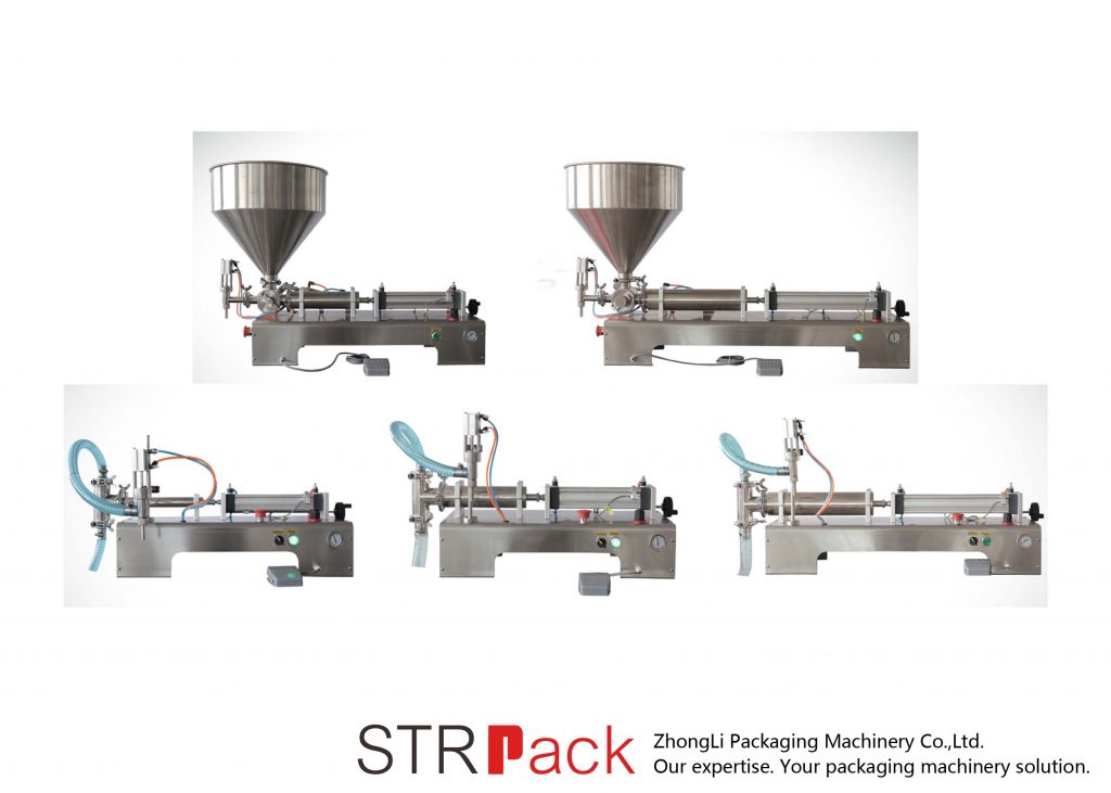 Semi Automatic Piston Liquid Filling Machine