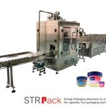Vaseline Liquid Filling Machine Automatic Vaseline Filling And Cooling Line
